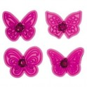 JEM - emporte-pièce papillons, set de 4