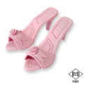 PME Edible Cake Topper Ladies shoes pink, one pair
