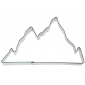 Cookie Cutter mountain, tin plate, 9.5 cm