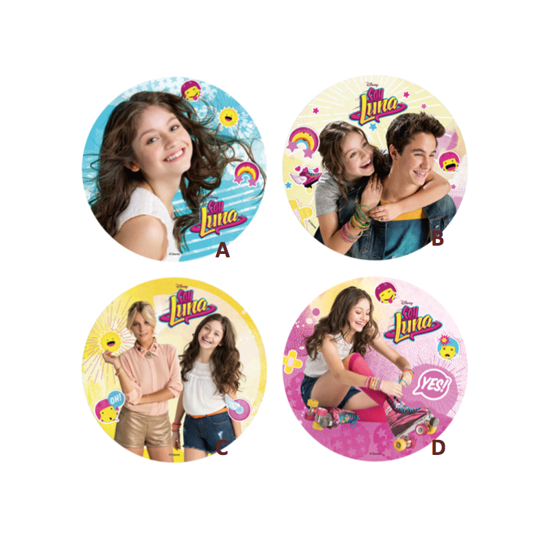 wafer paper disc soy luna 21 cm genevacakes swiss cakes s rl. Black Bedroom Furniture Sets. Home Design Ideas