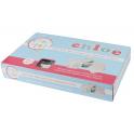 Cake Star - Emporte pièce lettres minuscule MINI à piston, en plastique, 26 pièces
