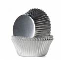 Backförmchen Microgrösse silber, 180 pieces