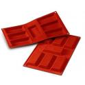 Silikomart - Financier silicone mold (big)