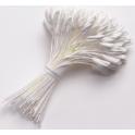 Culpitt - Pistils grand blancs, 144 pièces
