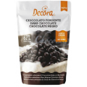 Decora - Schokoladen Drops, Edelbitter-Schokolade (62% Kakao), 250 g