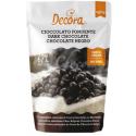 Decora - Chocolate drops, dark chocolate (62% cocoa), 250 g