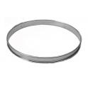 De Buyer - Cercle à tarte, 24 cm diamètre, 2 cm de haut