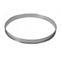 De Buyer - Tart ring, 24 cm dia, 2 cm high