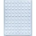 CK - Moule à bonbon/isomalt, bijoux mini, 80 cavités