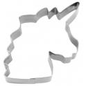 Emporte-pièce - tête de licorne, 8 cm