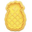 Ausstech- und Prägeform Ananas, Kunststoff, 5 cm