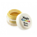 "Magic Colours - Colorant alimentaire poudre métalisé doré ""Royal Gold"", 7 ml"