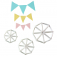 FMM - Easy Bunting cutter, set of 3