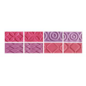 Decora - Texture Mat fashion, set of 4