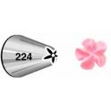 Douille en Acier Inoxydable 224 (fleur)