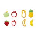 Decora - Emporte-pièce fruits, set de 4