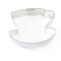 Cookie Cutter Tea Cup and saucer, approx. 7.5 cm