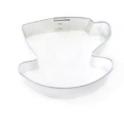 Emporte-pièce - tasse et sous-tasse, env. 7.5 cm