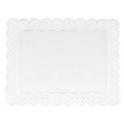 Staedter - Napperons blancs rectangles  46 x 36 cm, 4 pièces