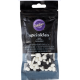 Wilton - Sprinkles black and white skulls, 56 g