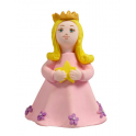 Pink Princess topper Claydough. 9 cm