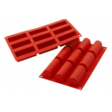 Silikomart - Midi buche silicone mold