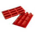 Silikomart - Moule en silicone bûche (moyenne)
