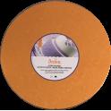 Planche orange ronde, dia. 30 cm, épaisseur 1.2 cm
