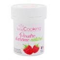 Natural aroma powder raspberry, 15 g