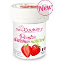 Arôme naturel en poudre fraise,  15 g