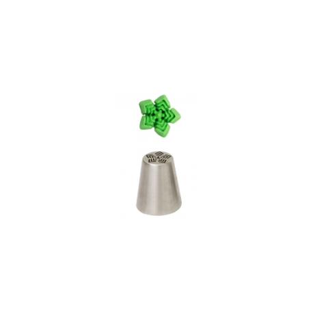 Douille en acier inoxydable étoile 3D, 70