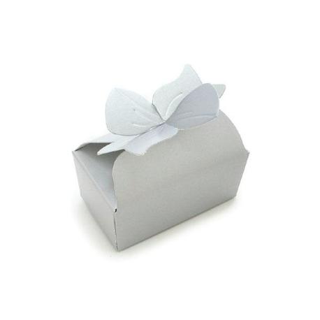 Boîtes blanches pour pralinés, 7 x 4 cm, 5 pièces