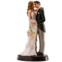 "Dekora - Wedding cake topper couple ""Maria y Juan"""