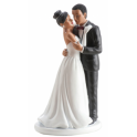 Dekora - Wedding cake topper ethnic couple