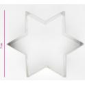 Emporte-pièce - étoile, 7 cm