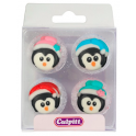 Culpitt Icing Decorations Penguins, 12 pieces
