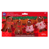 Wilton - Cookie Cutter Gingerbread Set, 4 pieces