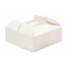 Boîte à gâteau avec poignée, 36 x 36 x12 cm