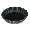 De Buyer - Moule à tartelettes bords cannelés évasés, 11 cm