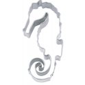 Cookie Cutter Seahorse, approx. 7.5 cm