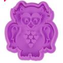 Decoration cutter owl, 5.5 cm