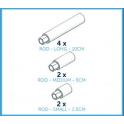 Cake Frame - Rod selection pack, 6 pieces