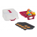 Cupcakes Carrier, for 24, incl. backing tray