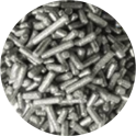 Decora silver Jimmies, 90 g