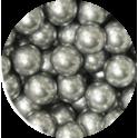 Decora perles en sucre argent, 8 mm, 100 g