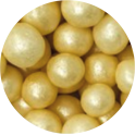 Decora Edible Pearls pearly white, 8 mm, 70 g