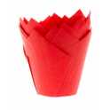 Tulip Muffin Case red, 36 pieces