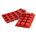 Silikomart - Small cubes silicone mold, 15 holes