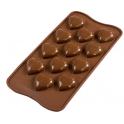 Choco Mini Herze 3D design Silikonform