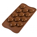Choco Mold Hearts 3D design, 12 cavities